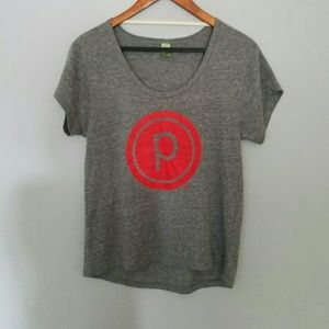 Pure Barre grey short sleeve tee S